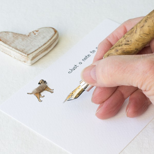 Set of 10 Notecards - Border Terriers