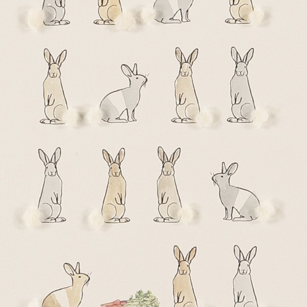 Limited Edition Of Lots Of Rabbits With Carrots